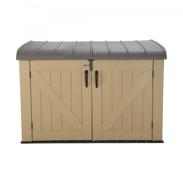 Lifetime Sheds 561 Gallon Plastic Horizontal Storage Box