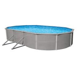 """Blue Wave Belize 18' x 33' Oval 52"""" Deep Steel Pool Kit (NB2536)"""