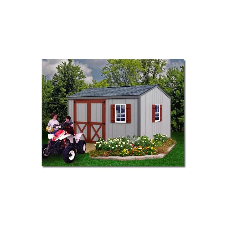 Best Barns Cypress 12x10 Wood Storage Shed Kit (cypress_1210)