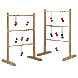 Hathaway Solid Wood Ladder Toss Game Set - Ladder Golf (BG3145)