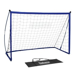 Striker Portable Soccer Goal System with Net, Black Carry Bag