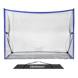 Hathaway Par 5 Golf Training Net System for Driving, Chipping Practice (BG3405)