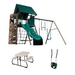Lifetime A-Frame Playset - Earthtone (90188)