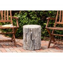 Patio Sense Elyse Round Garden Stool (62420)