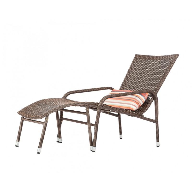 Patio Sense Lido Wicker Lounge Set (62408)