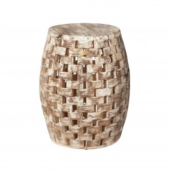 Patio Sense Maya Oval Garden Stool (62419)