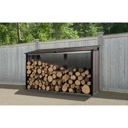 Arrow 8x2 Firewood Rack - Mocha (90177)