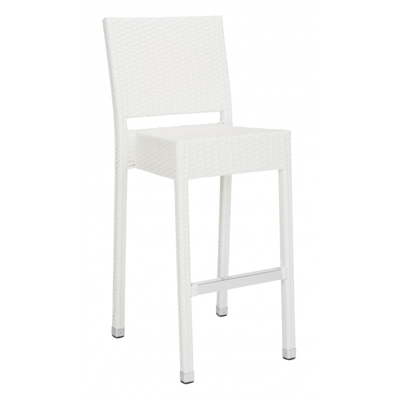 Safavieh Bethel Indoor-Outdoor Bar Stool - White (FOX5201C)
