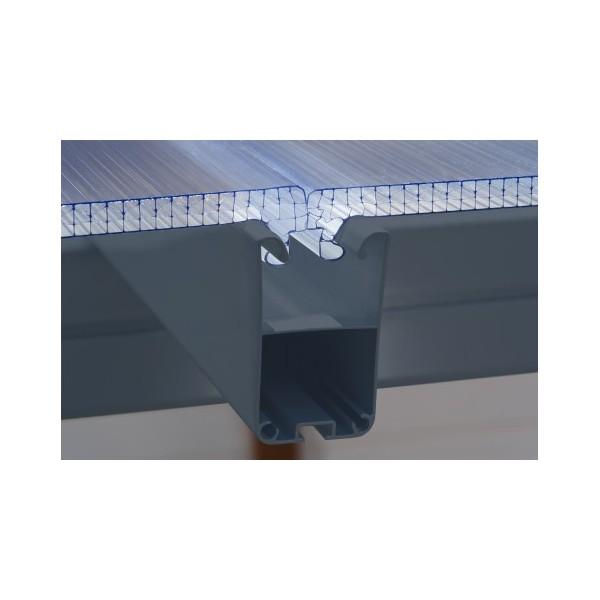 Palram 10x50 Feria Patio Cover Kit Gray Hg9450