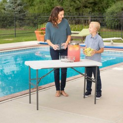Lifetime 4-Foot Nesting Commercial Table (280478)