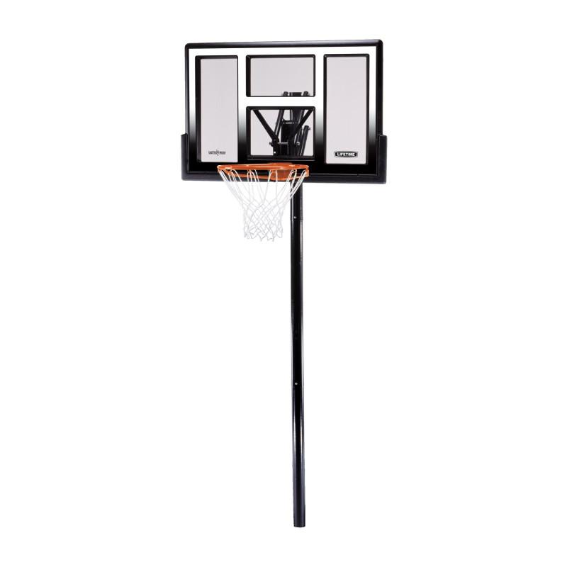 "Lifetime 50"" Adjustable In-Ground Basketball Hoop (1601)"