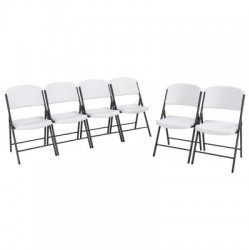 Lifetime Classic Folding Chair - 6 Pk (80747)