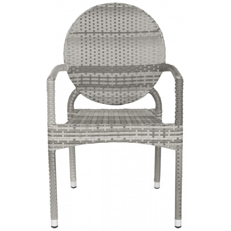 VALDEZ INDOOR-OUTDOOR FRENCH BISTRO STACKING SIDE CHAIR