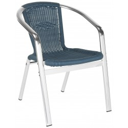 WRANGELL INDOOR-OUTDOOR STACKING ARMCHAIR