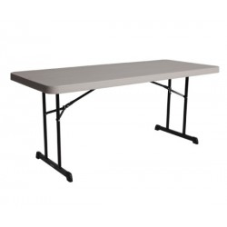 Lifetime 6 ft. Professional Grade Folding Table (Putty) 80126