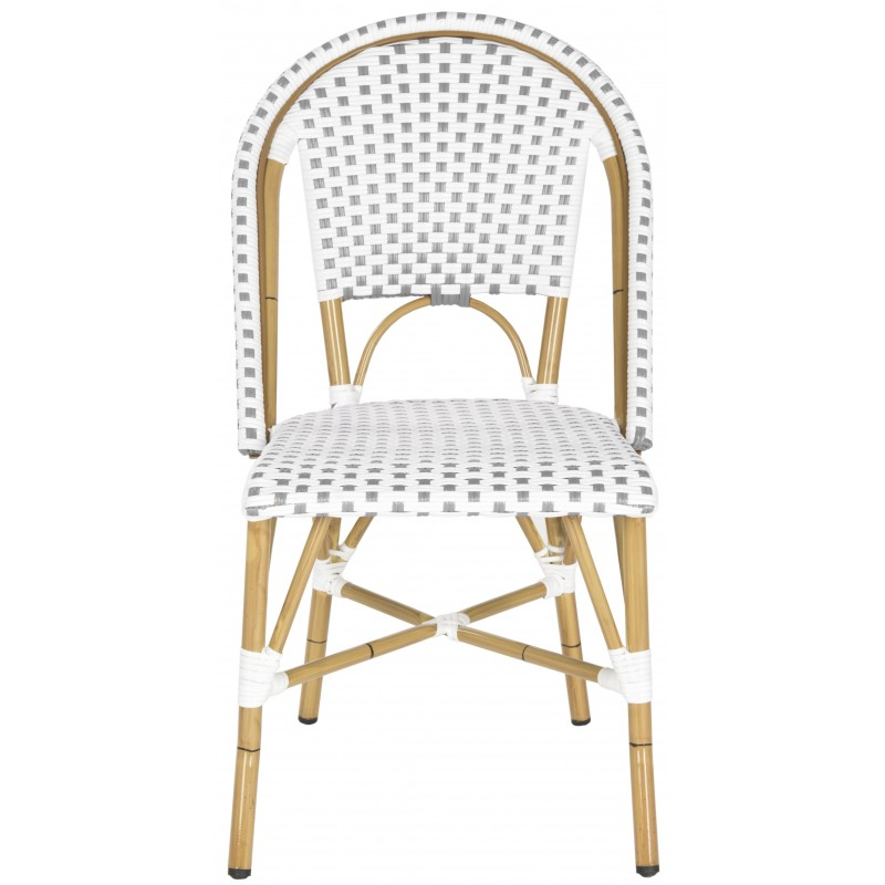 SALCHA INDOOR-OUTDOOR FRENCH BISTRO STACKING SIDE CHAIR