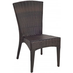 New Castle Wicker Side Chair