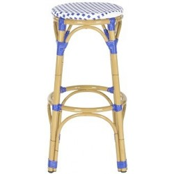 SALCHA INDOOR-OUTDOOR FRENCH BISTRO STACKING SIDE CHAIRKIPNUK INDOOR-OUTDOOR STACKING BAR STOOL