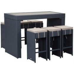 SANDERS OUTDOOR BAR SET