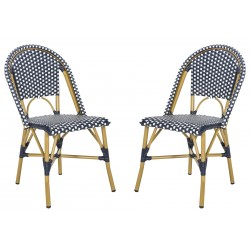 Sarcha Indoor-Outdoor French Bistro Stacking Side Chair