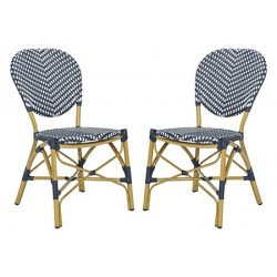 Lisbeth French Bistro stacking Side Chair
