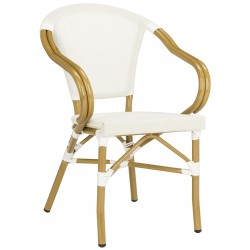 Karine Stacking Arm Chair