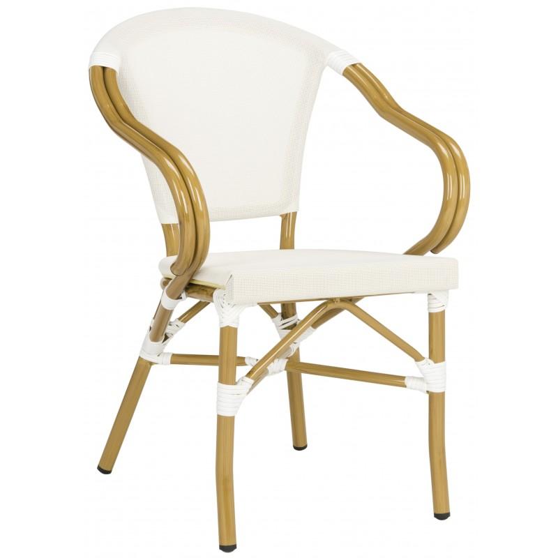 Karine Stacking Arm Chair