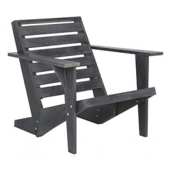 Safavieh Lanty Adirondack Chair - Dark Slate Grey (PAT6746B)