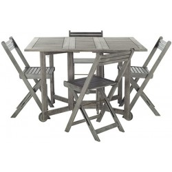 Arvin Table and 4 Chairs
