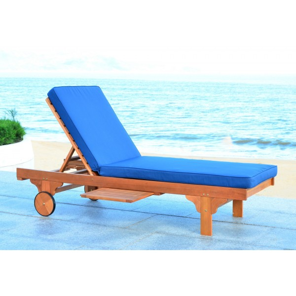 Safavieh Newport Chaise Lounge Chair with Side Table ... on Safavieh Chaise Lounge id=48782