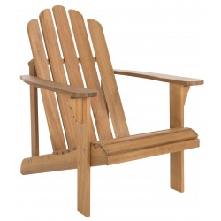Safavieh Topher Adirondack Chair-Natural (PAT7027A)