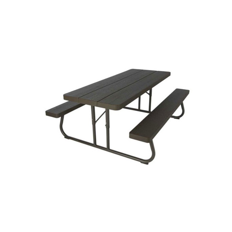 Lifetime 6-Foot Faux Wood Picnic Table 60105