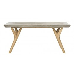 Pacey Indoor/Outdoor Modern Concrete 16.54-inch H Coffee Table