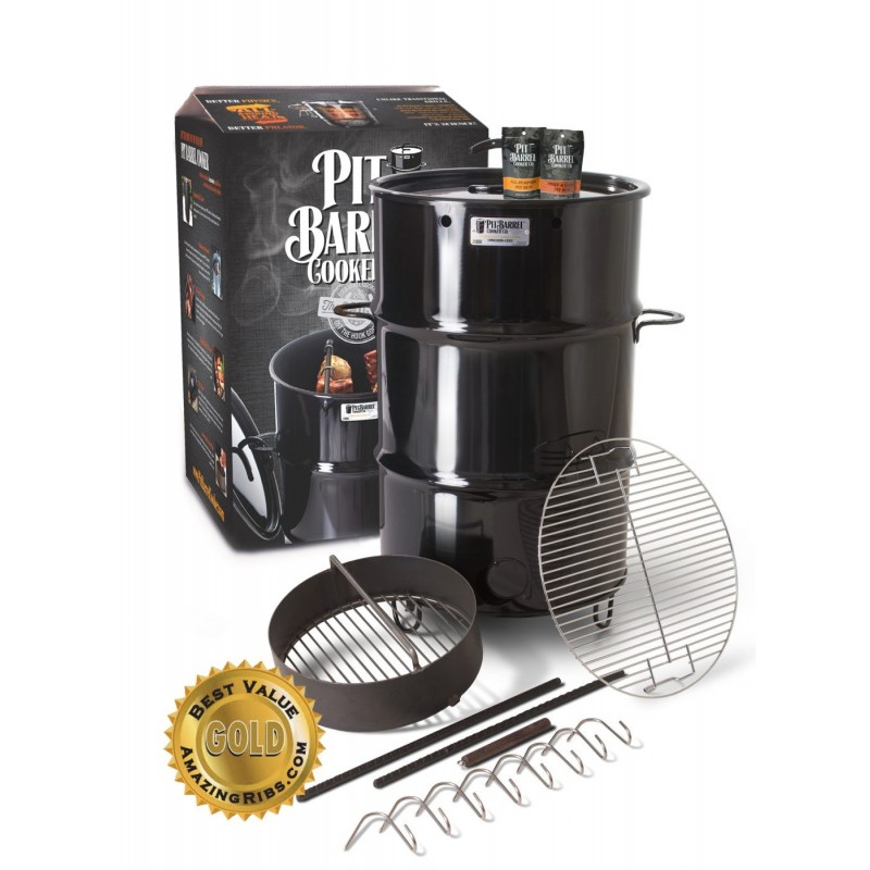 Pit Barrel 18.5″ Classic Cooker - Charcoal (PKG1001)