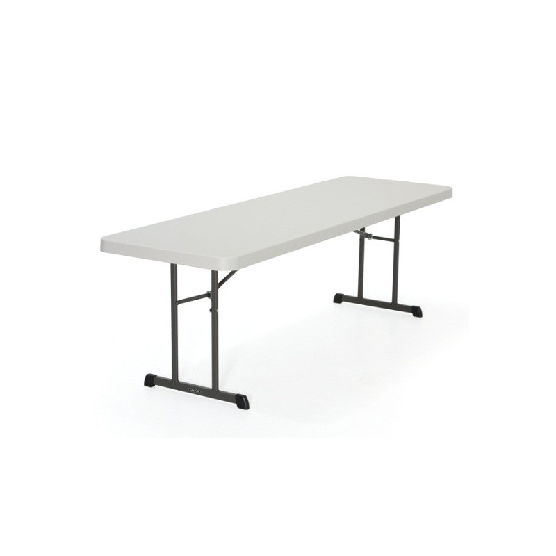 Lifetime 8 ft Professional Grade Folding Table Single Pack (Almond) 280250