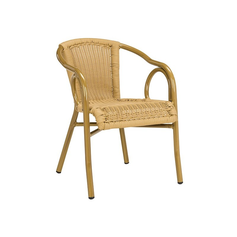 Dagny Stacking Arm Chair