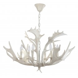 Safavieh Birch 30-inch Dia Antler Chandelier - White (CHA4003A)