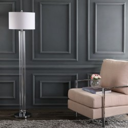 Safavieh Lovato 64-inch H Floor Lamp - Clear/Off-White (FLL4017A)