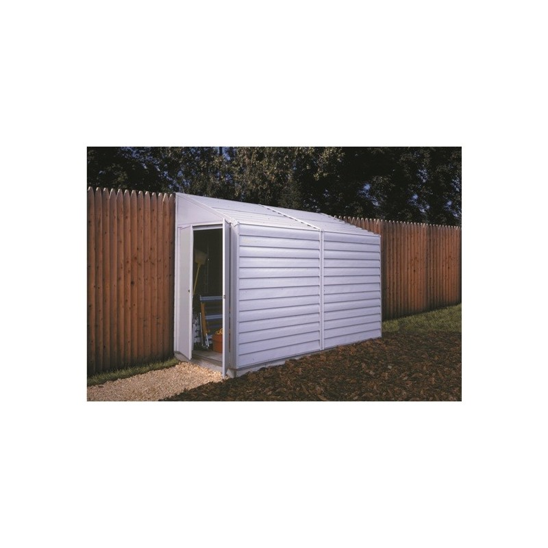 Storage Shed Ramps >> Arrow Yardsaver 4x10 Metal Side Shed Kit (YS410)