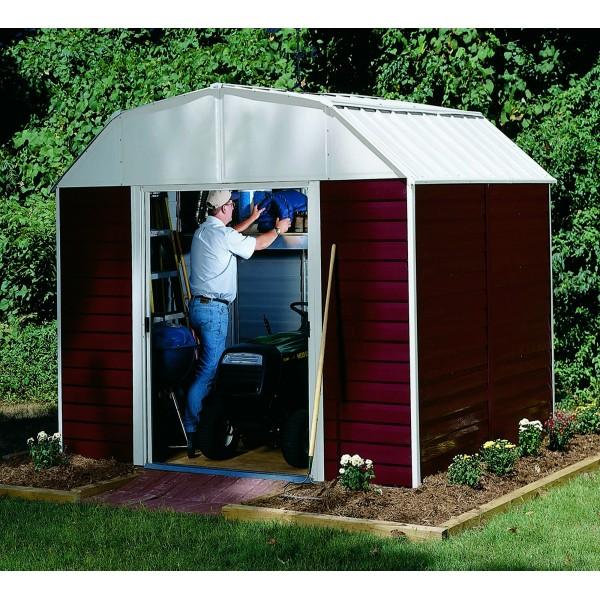 Arrow Red Barn 10x14 Shed Kit Rh1014