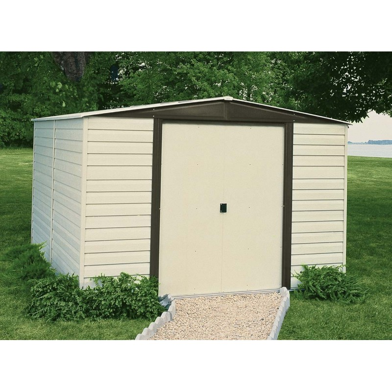 Arrow Vinyl Dallas 10x8 Storage Shed Kit (VD108)