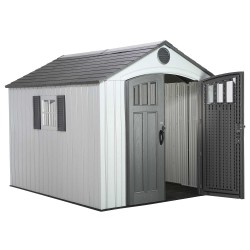 Lifetime 8x10 Outdoor Storage Shed Kit w/ Vertical Siding (60202)