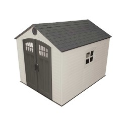 Lifetime 8x10 Outdoor Storage Shed Kit w/ Horizontal Siding - Desert Sand (60238)