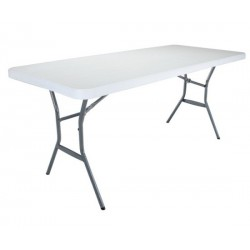 Lifetime 24-Pack 6 ft. Light Commercial Grade Tables - White (2924)