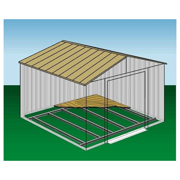 Arrow shed floor frame kit for 10x12 and 10x14 fb1014 for 10x14 shed floor plans