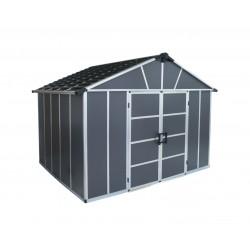 Palram Yukon 11x21 Storage Shed Kit (HG9921SGY)