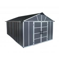 Palram Yukon 11x17 Storage Shed Kit - Gray (HG9917SGY)