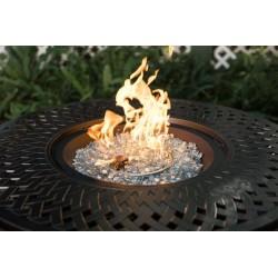 Fire Sense Verona Aluminum Round LPG Fire Pit (62695)
