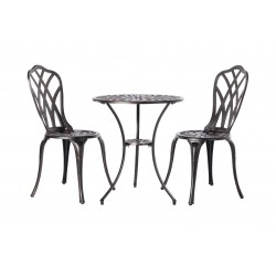 Fire Sense Theon Antique Bronze 3pc Bistro Set (62696)
