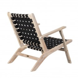 Patio Sense Vega Driftwood Outdoor Chair (62772)